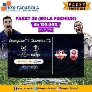 Paket nexparabola Premium all channel