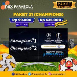 Paket nexparabola liga champions