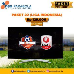 Paket nexparabola liga indonesia